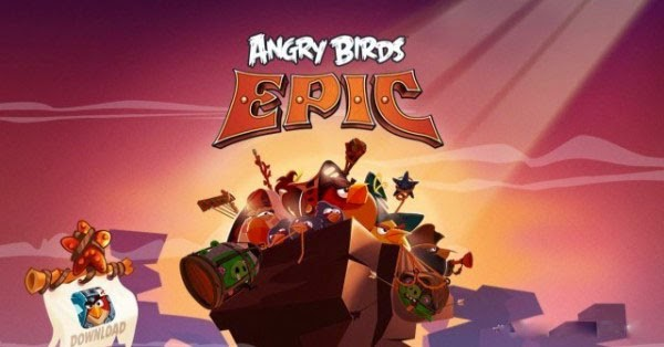 Angry Birds Epic v1.1.2 Apk + OBB Data + MOD Apk Unlimited Gold and All Resources