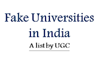 List of Universities Not Recognised By UGC