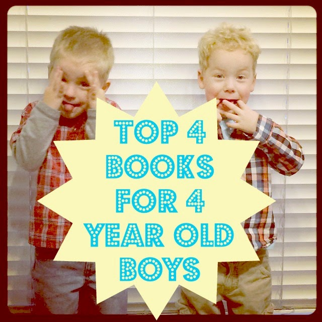 Top 4 Books for 4 Year Old Boys