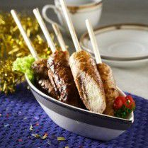 sate kentang daging ayam
