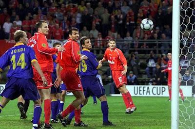 2001 Uefa Cup final Best ever European finals