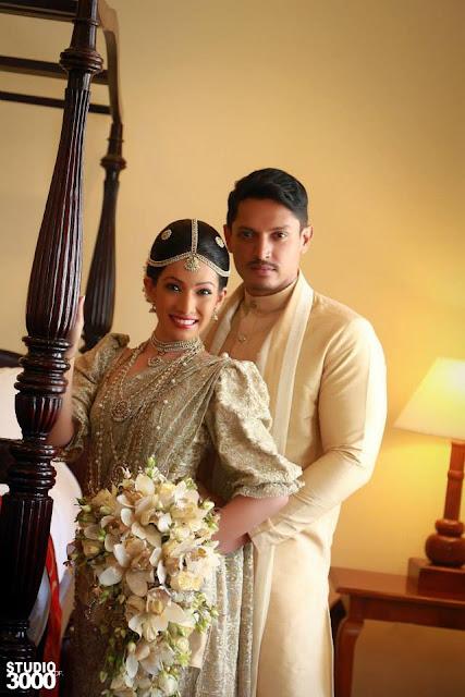 Srilankan Actress Nehara Pieris Wedding Sri Lankan Wedding Photo
