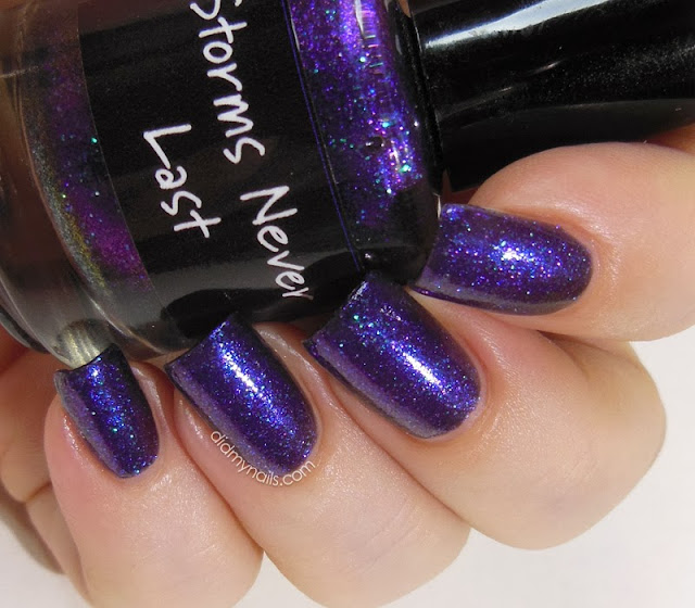 CrowsToes Storms Never Last swatch