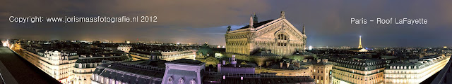 Paris - Rooftop LaFayette Shoppingmall
