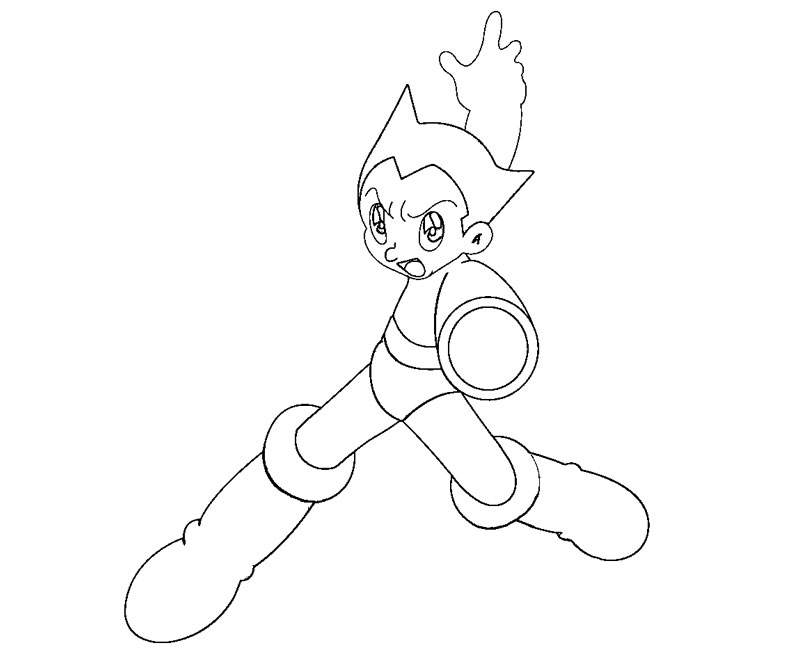 astro boy coloring pages - photo#25
