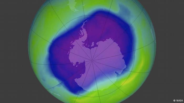 Good news on ozone, bad news on greenhouse gases