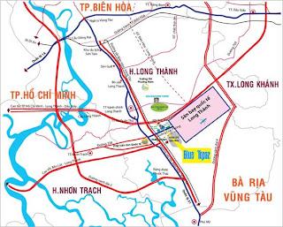 Đất sân bay quốc tế Long Thành