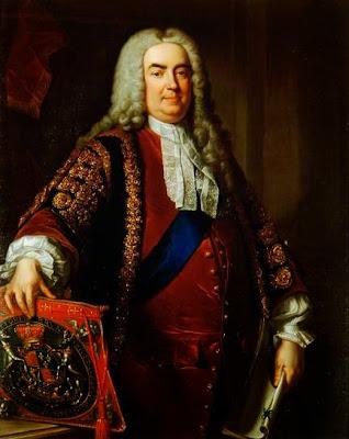 Sir Robert Walpole, Earl of Orford, Prime Minister by Jean-Baptiste van Loo, 1740