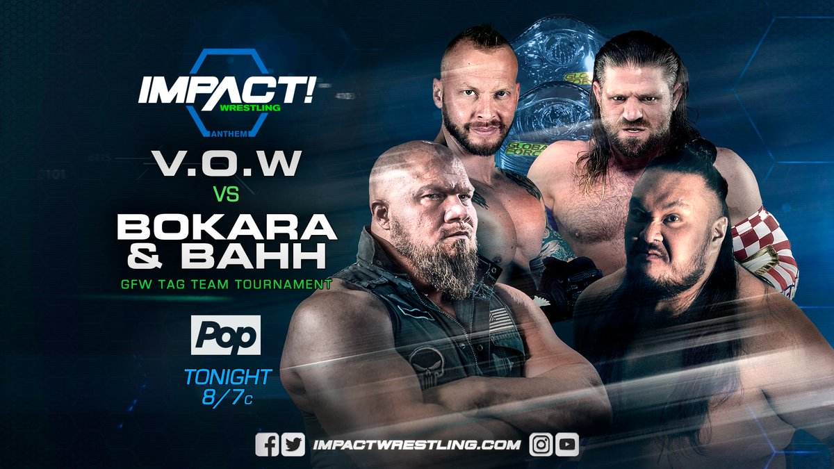 GFW Tag Team Title Tournament: VOW vs Bokara & Bahh