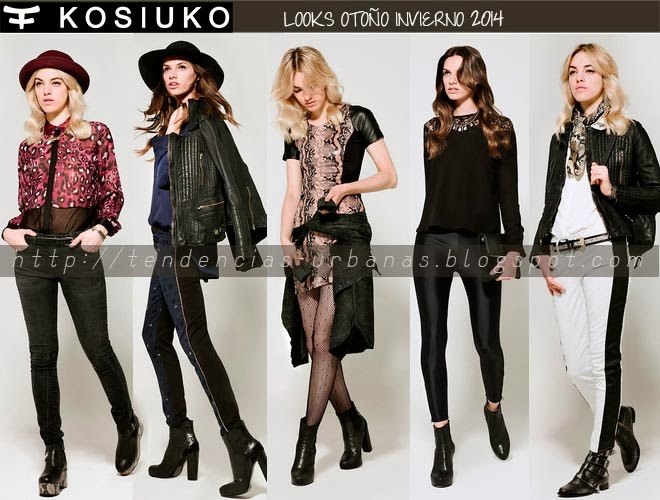 LOOKBOOK KOSIUKO  OTOÑO INVIERNO 2014