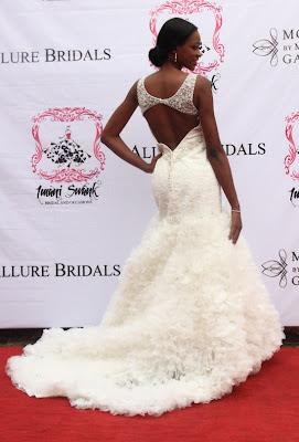 Superb Wedding Dresses 9 Awesome PHOTOS Nigerian Celebrities Posing