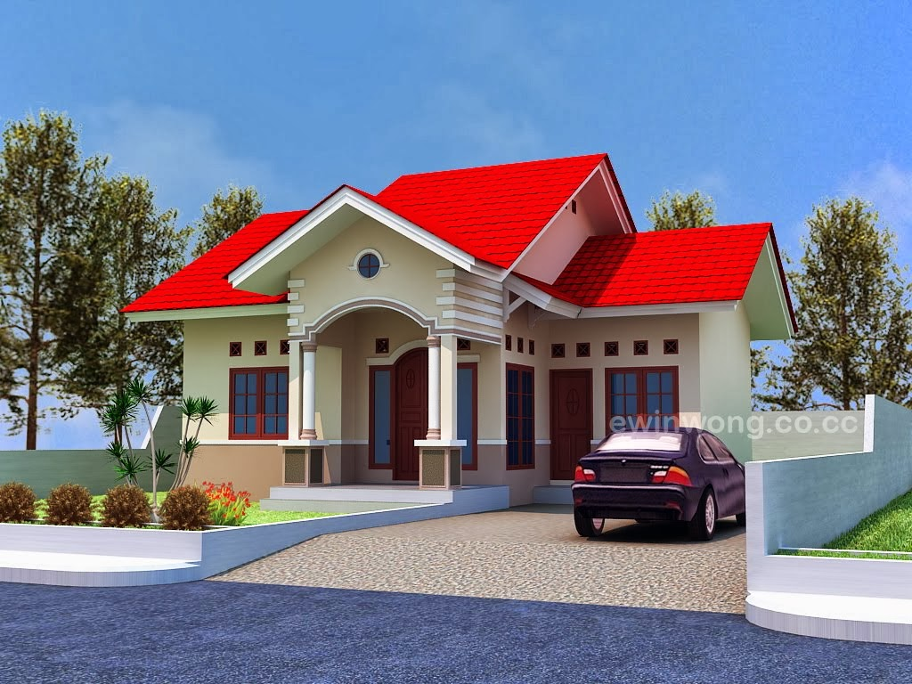 Plan type 70 modern minimalist house beautiful for Design rumah mimimalis modern