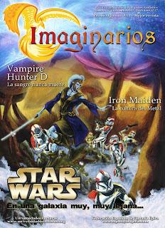 revista imaginarios 14 FESFE espada y brujeria