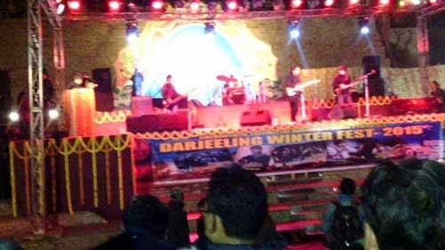 Darjeeling Winter Fest 2015 begins at chowrasta
