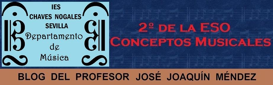 2º de ESO - Conceptos Musicales