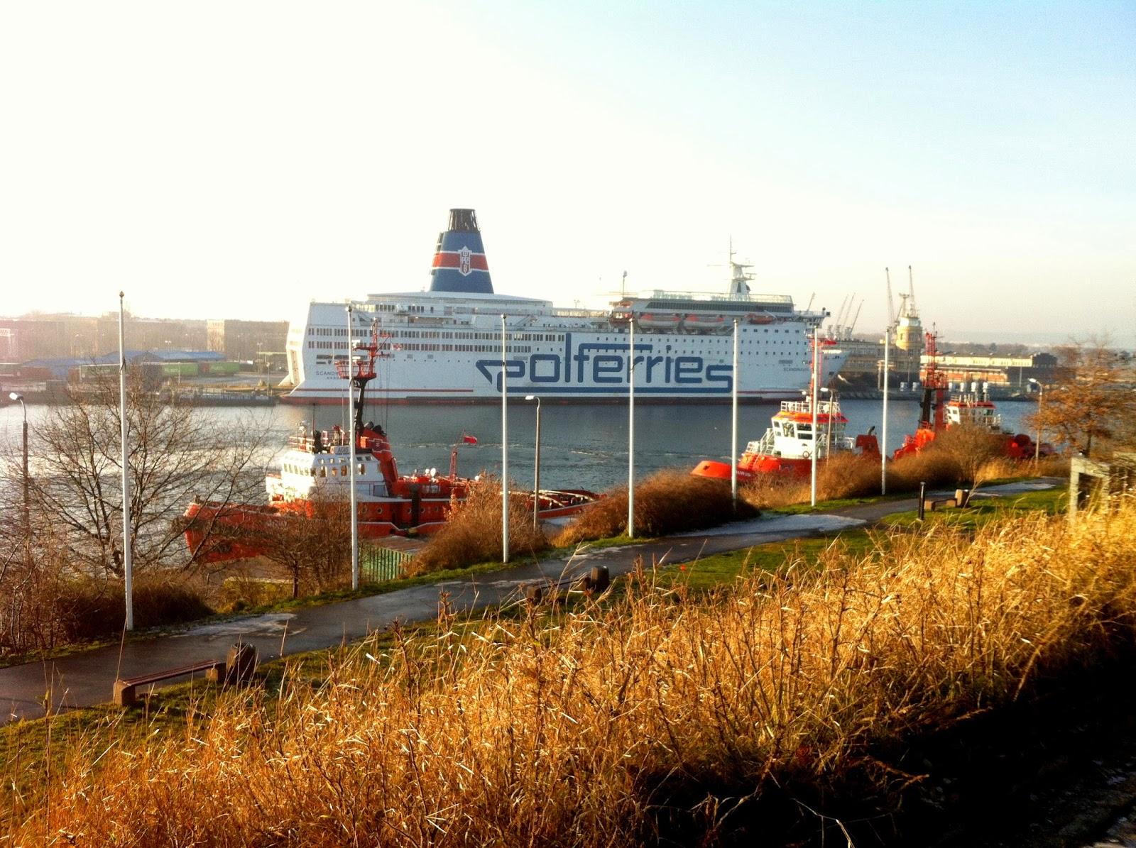 Widok z Westerplatte