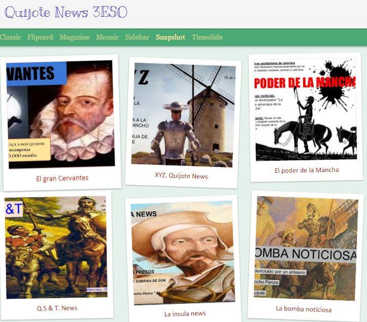 Quijote News 3ESO