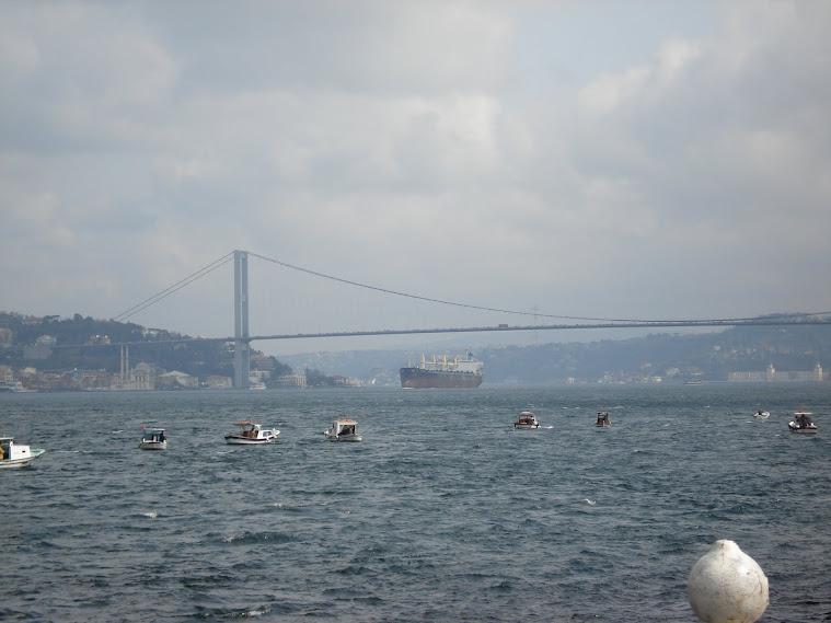 Üsküdar'dan bogaz köprüsü