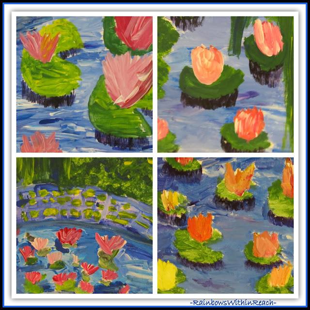 Monet in Elementary School via RainbowsWithinReach