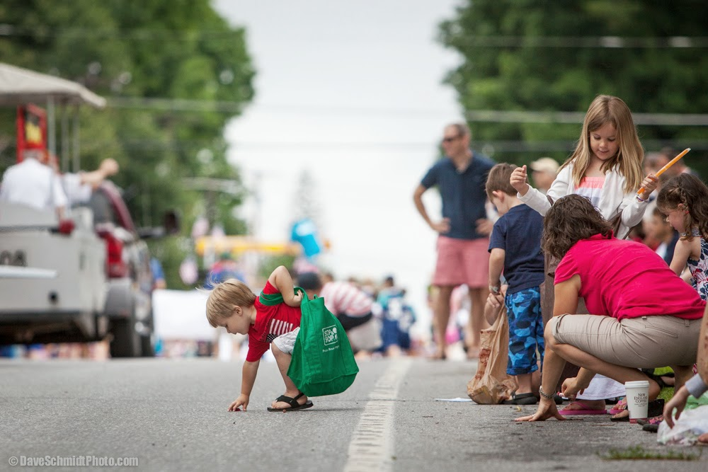 Williston, Vermont 4th of July Parade photo by Dave Schmidt