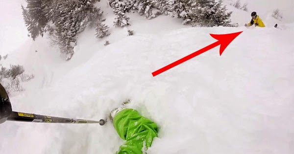 An Avalanche Could Have Been Tragic, But Instead, These Skiers Experienced A Miracle