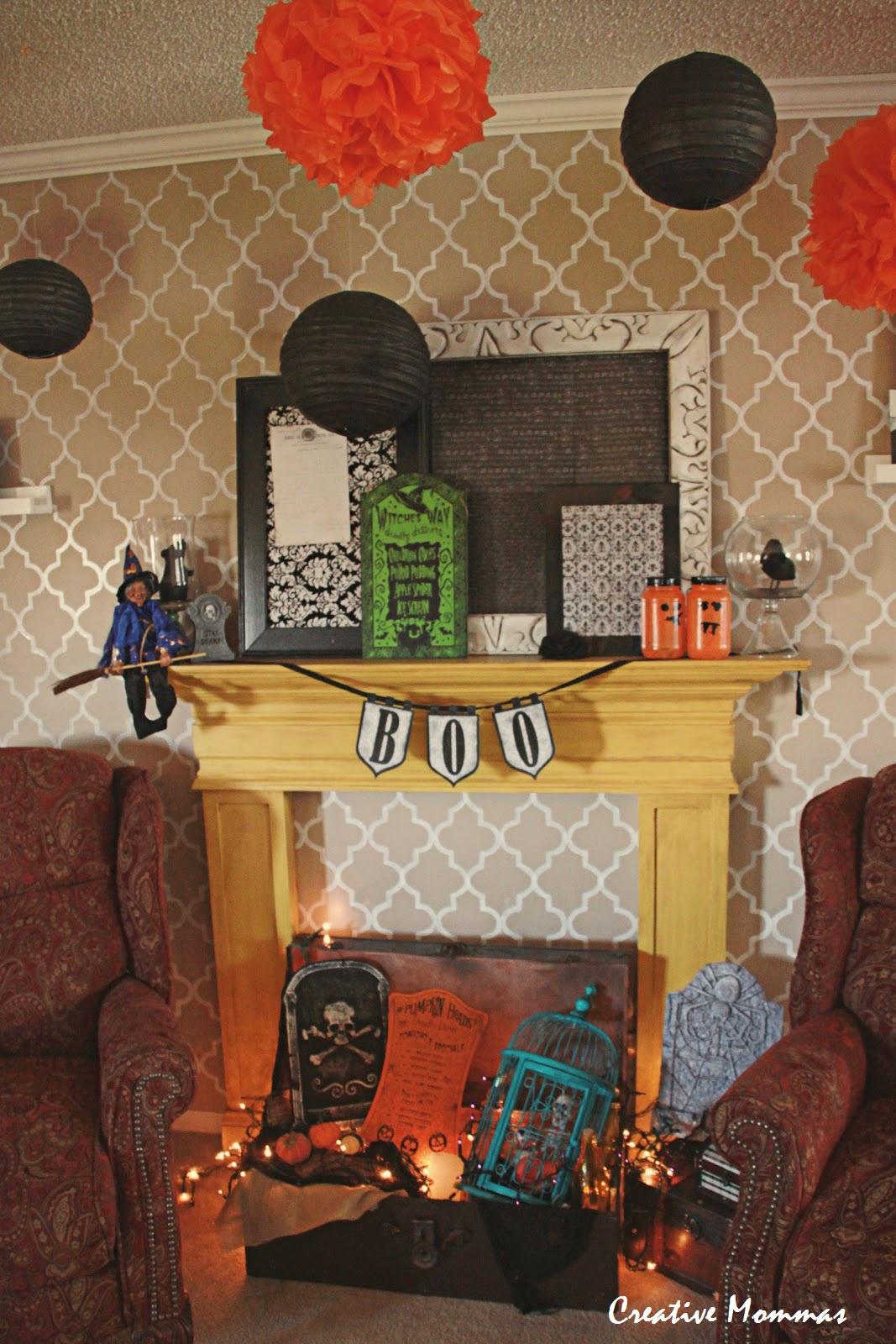 Creative mommas easy and inexpensive halloween decorations - Cheap and easy halloween decorations ...