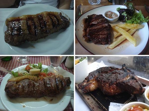 As 5 melhores carnes de Buenos Aires