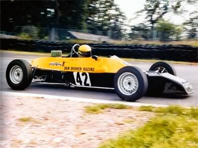 1981 Carro Ayrton Senna Fórmula Ford 1600 Equipe Van Diemen