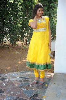 Pragnya Pictures in yellow salwar 009.jpg