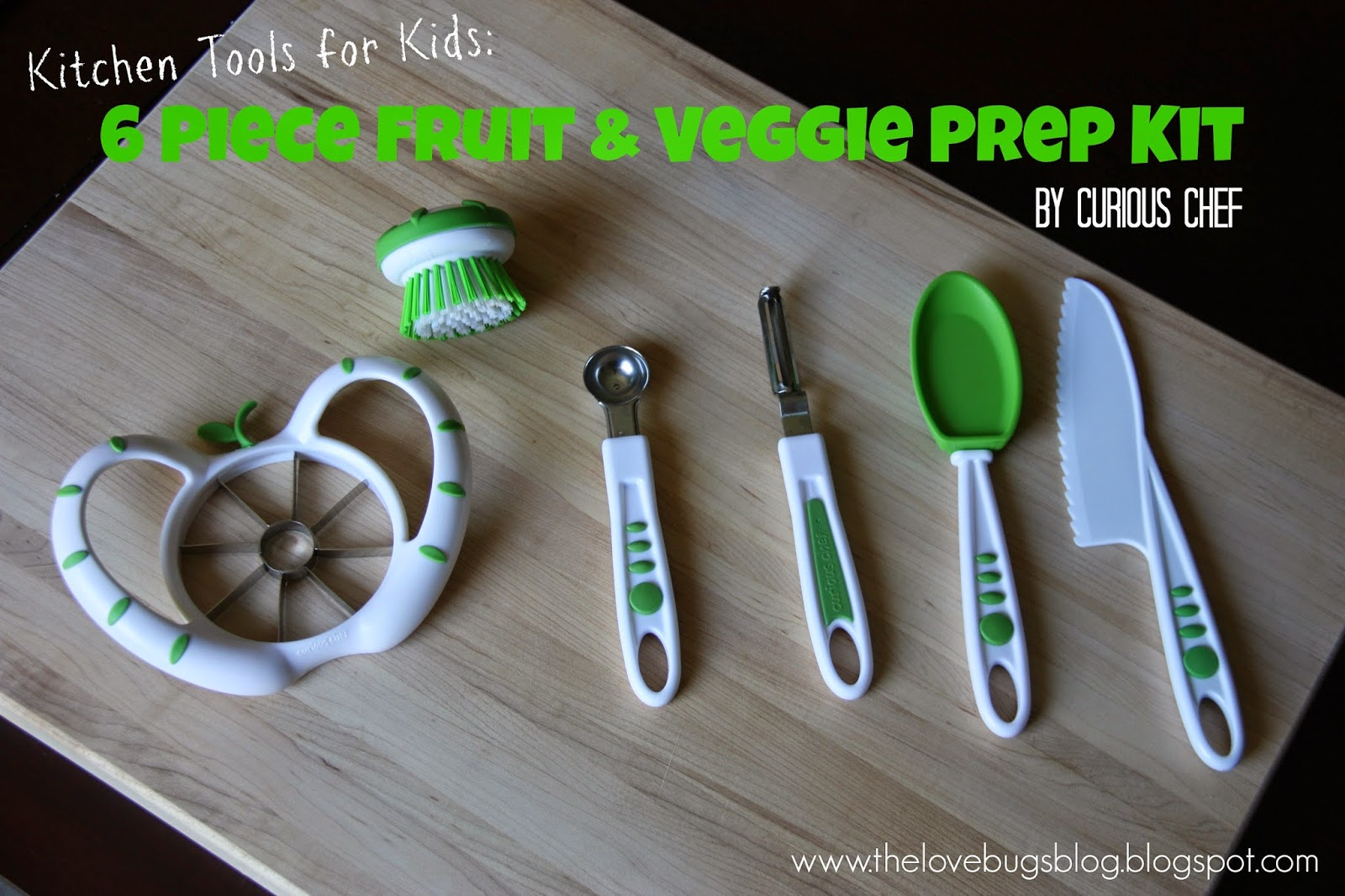 Kitchen Tools for Kids: Curious Chef Fruit & Vegetable Prep Kit