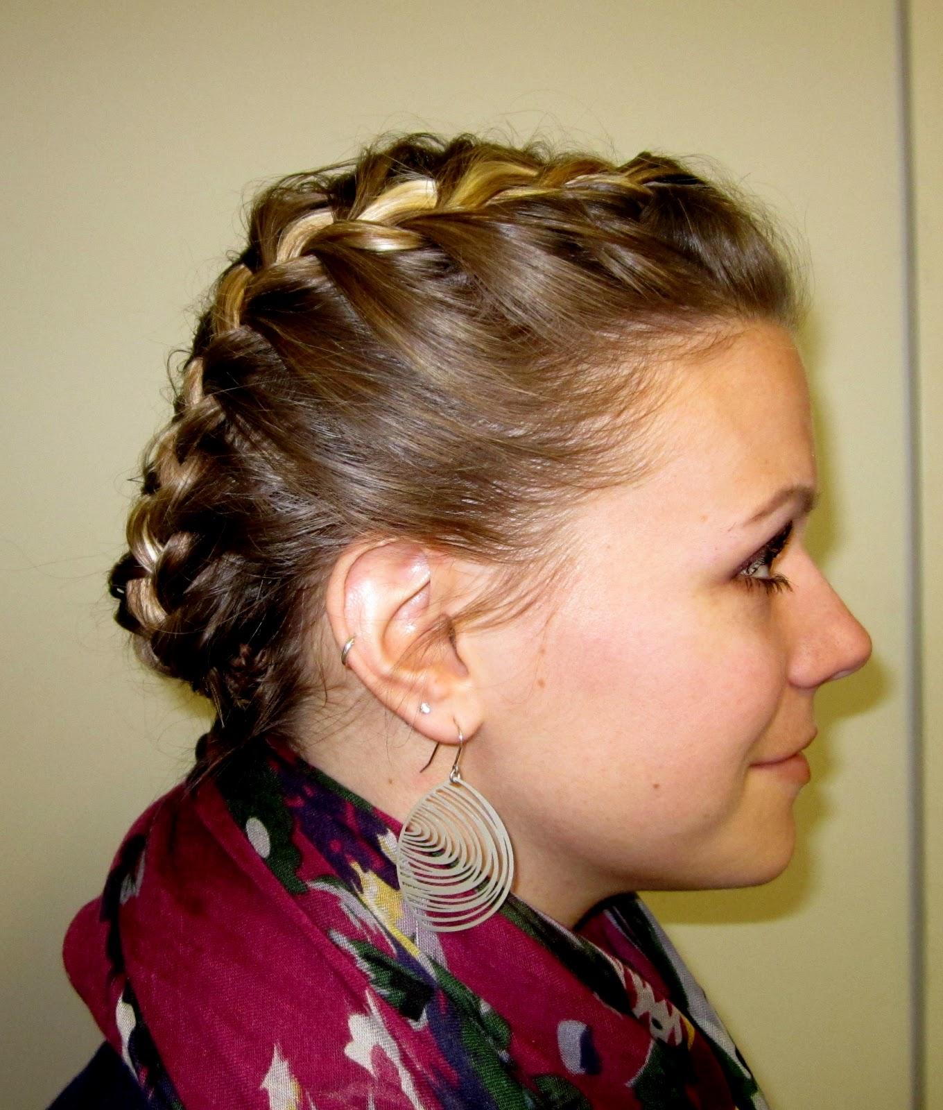 Hairstyles Halo Braid : Bye Bye Beehive ? A Hairstyle Blog: Halo Braid.