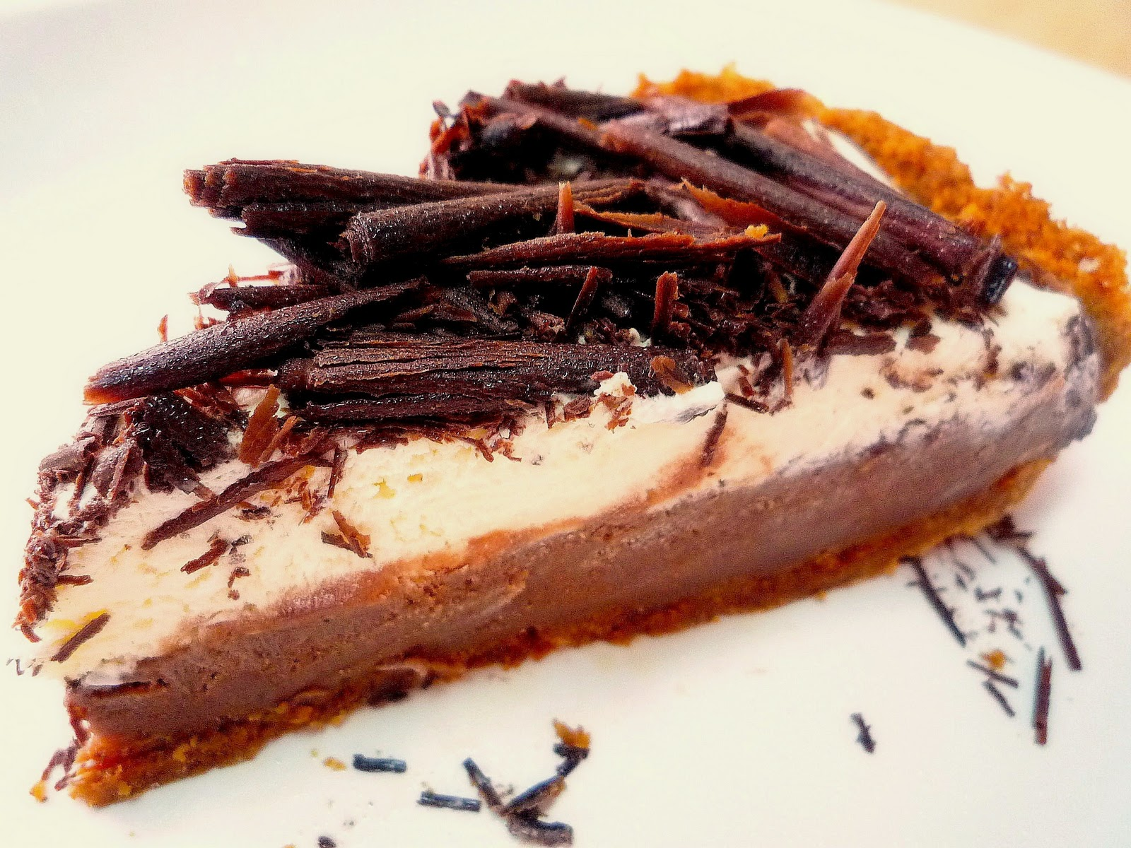 Food Wanderings : Chocolate Pudding Pie