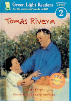 Good Books for Kids Biography - bookcover of  TOMAS RIVERA  by Jane Medina
