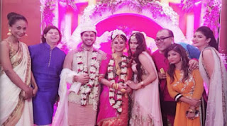 dimpy marries Dubai business man