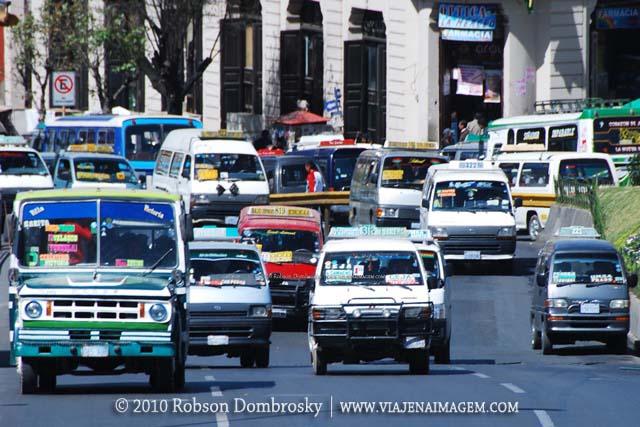 Trânsito de La Paz