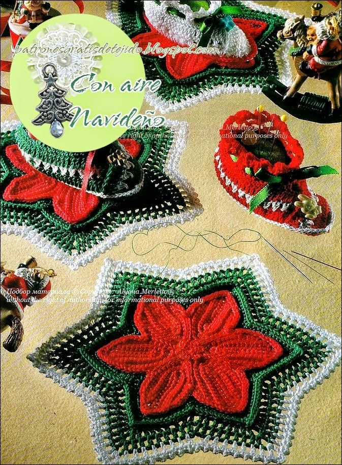 Adornos navide os para la mesa estrellas y botitas - Adornos de mesa navidenos ...