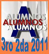 Alumnos 3ro 2da 2011
