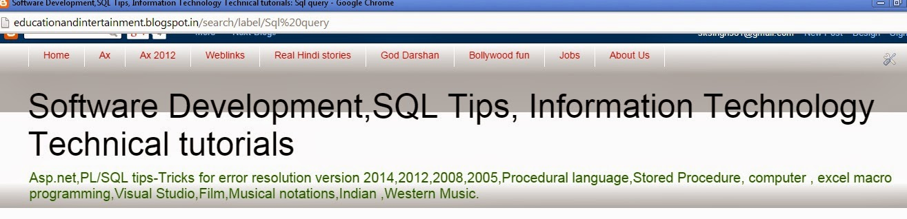 Sql Queries and troubleshooting