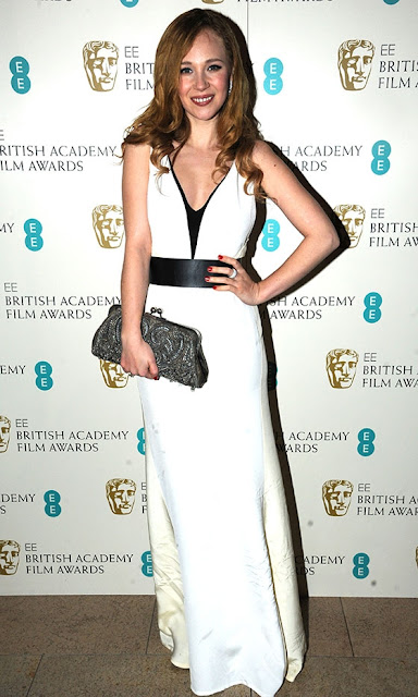 Juno Temple BAFTAs 2013 outfit