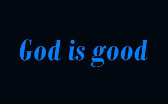 Deus é bom