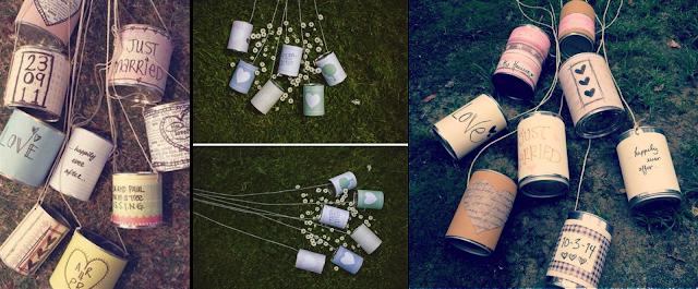 DIY Decora tu boda con latas