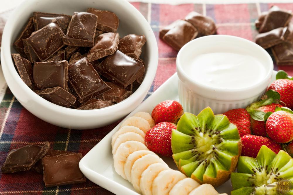 Fondue de chocolate por paula brito cookbeer - Fondue de chocolate ...