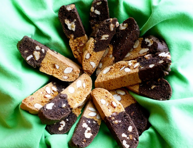 Biscotti Bianci e Neri ~ Buon Natale from Katie's Passion Kitchen