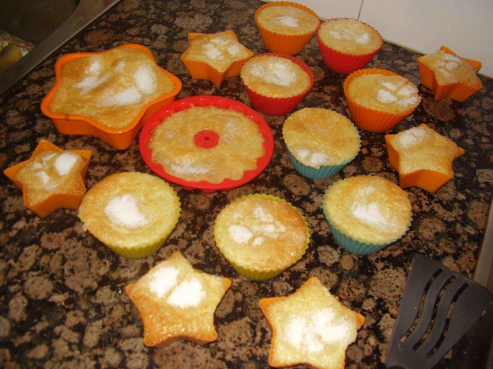 Magdalenas de nata cocina for Isasaweis cocina postres