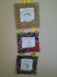 crafts, kids crafts, picture frame, gift