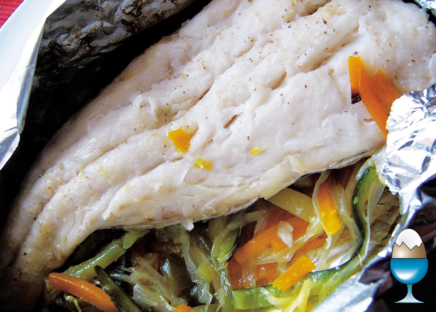 Con un par de recetas merluza en papillot - Cocinar lomos de merluza ...