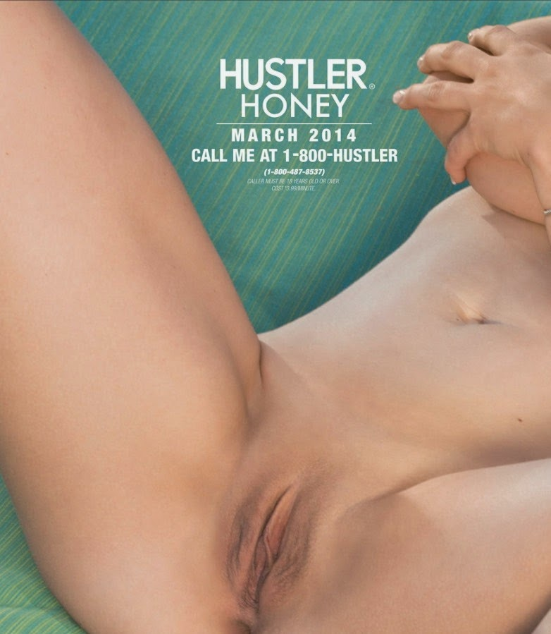 Photos of Victoria James naked - Hustler magazine