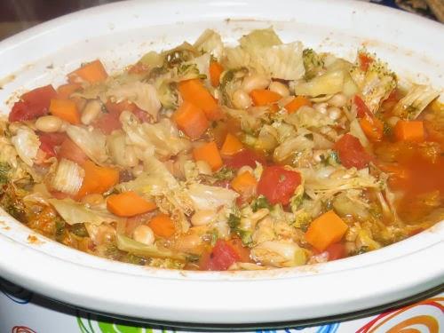 crockpot kale soup