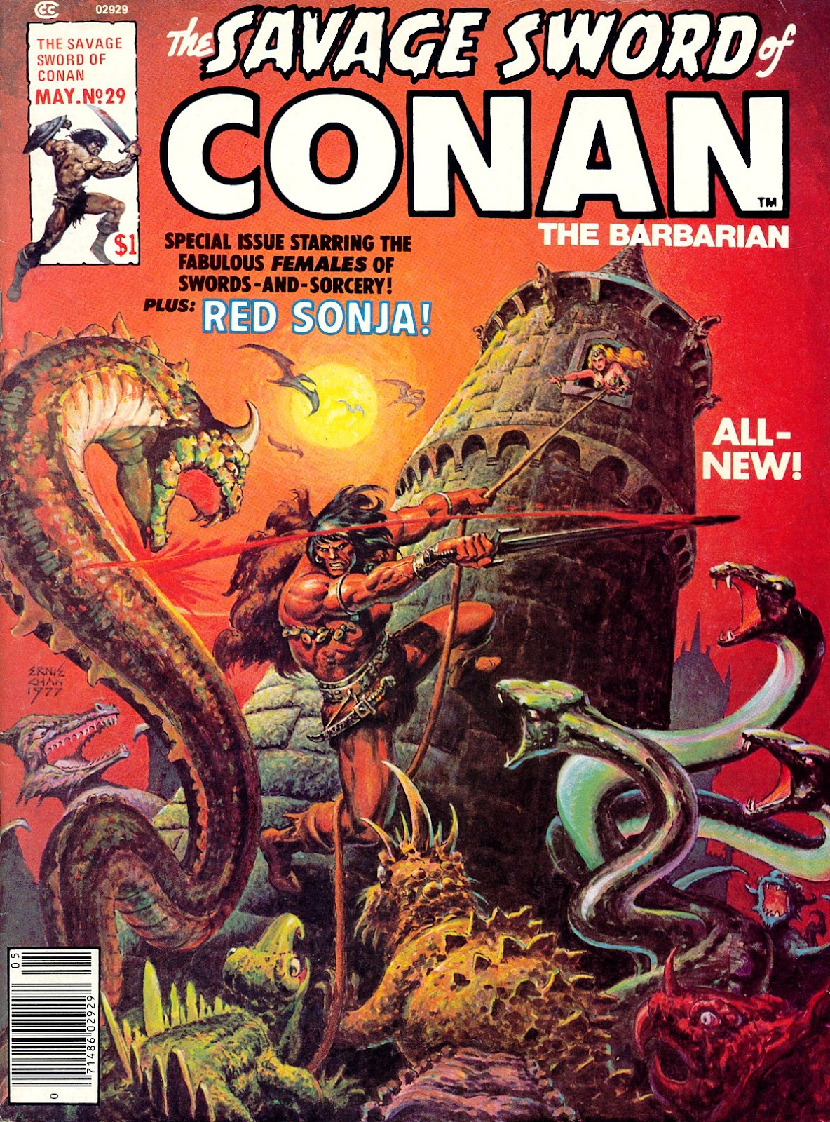The Savage Sword Of Conan Issue #29 #30 - English 1
