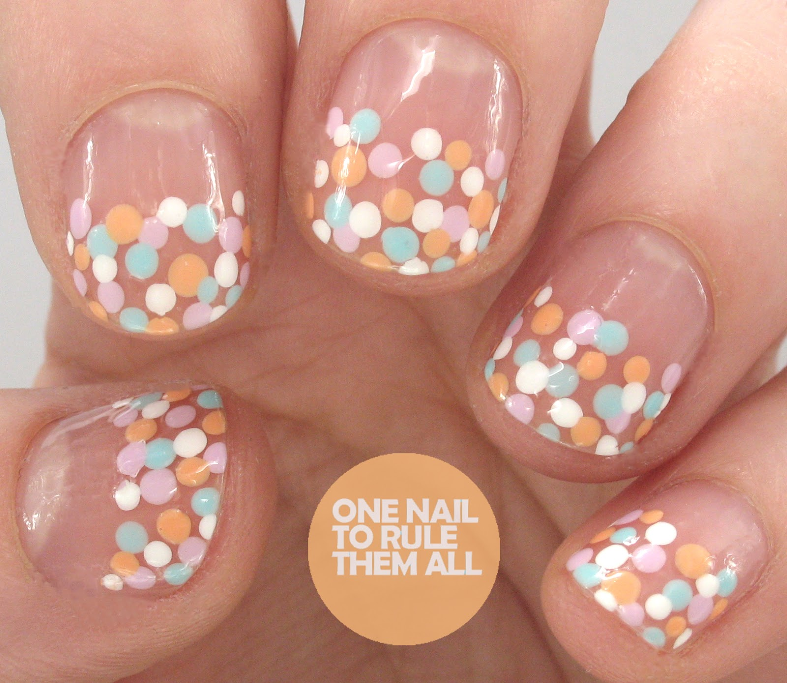 One nail to rule them all mani swap with dahlia nails prinsesfo Image collections
